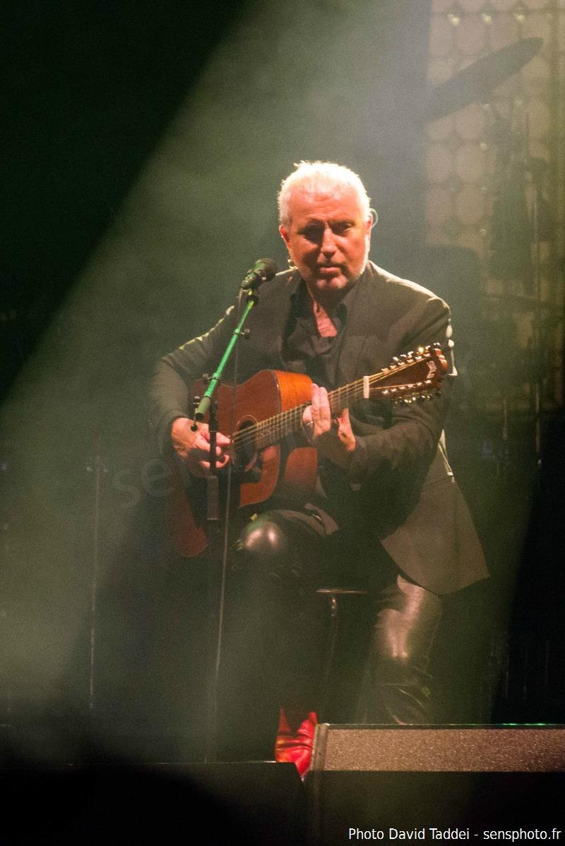Bernard Lavilliers en concert à Paris au Fnac Live 2014, place de l'hôtel de ville