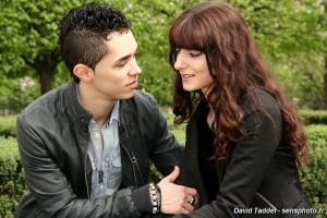Shooting Delphine et Alexandre