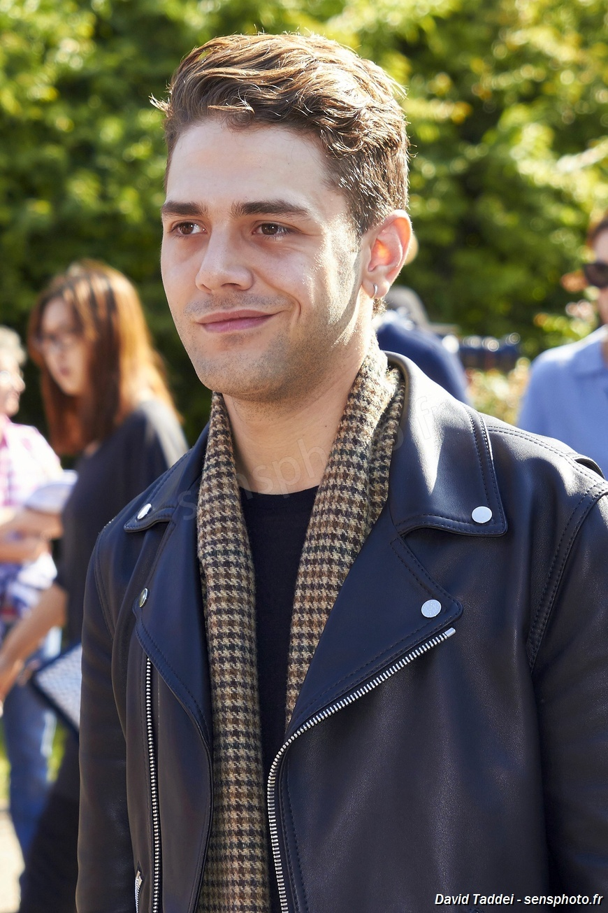 Xavier Dolan à la Paris Fashion Week