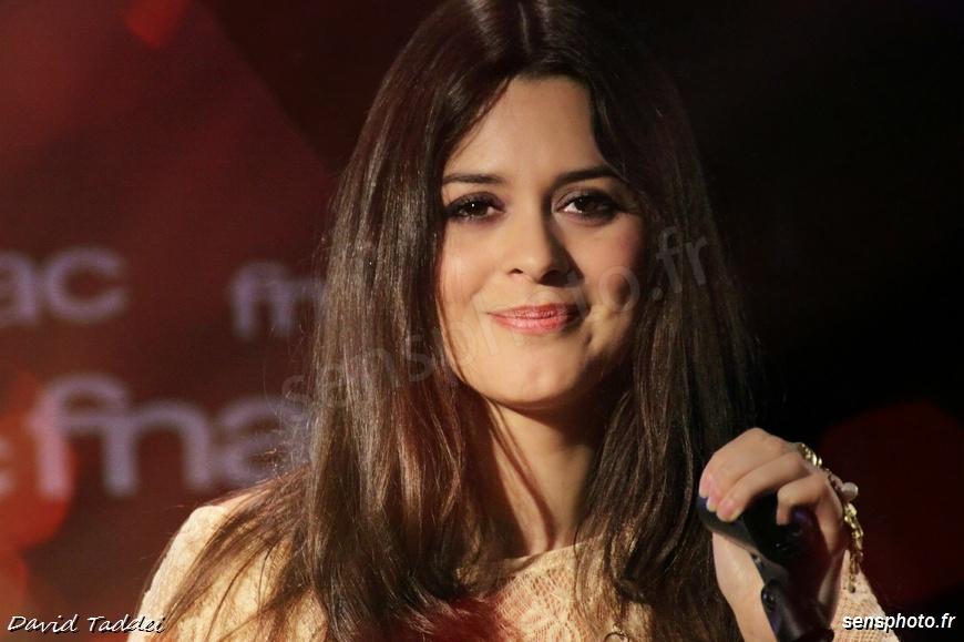 la chanteuse Emilie Simon en showcase à Paris