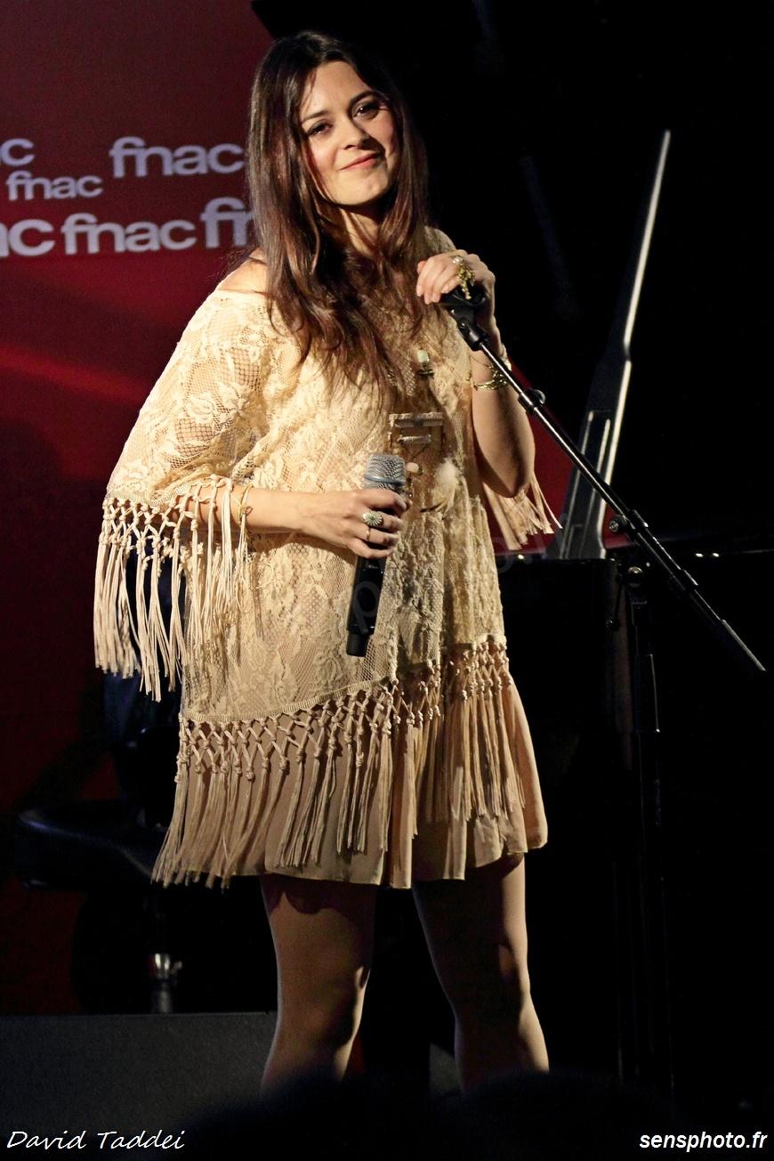 Emilie Simon en showcase à Paris