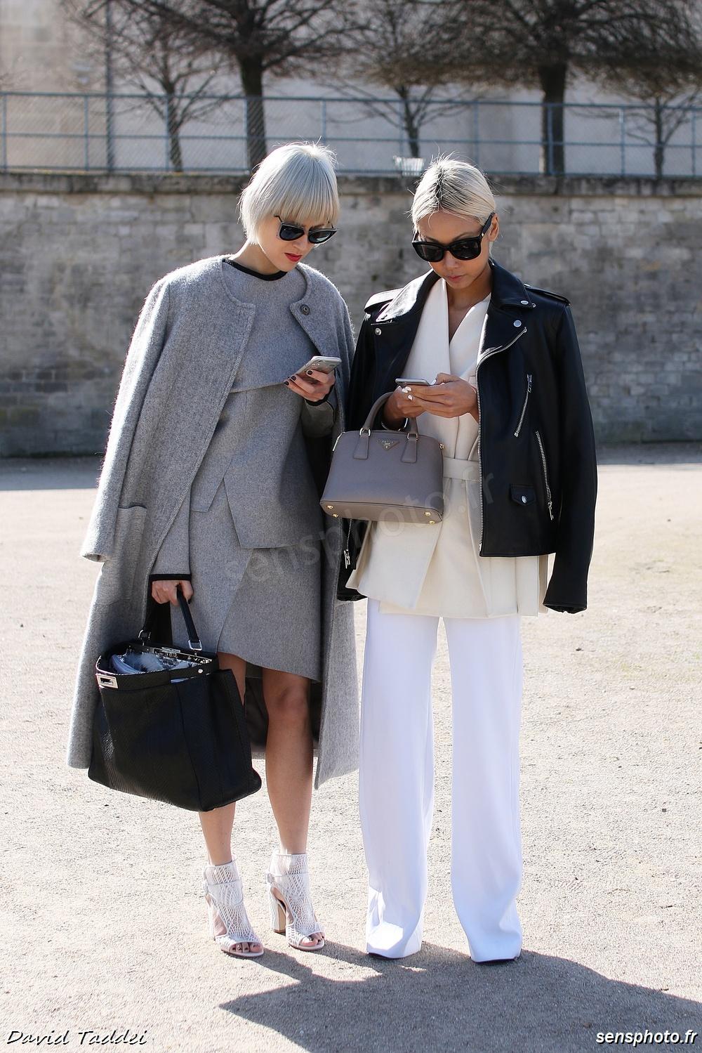 Linda Tol Vanessa Hong - Paris Fashion Week Issey Miyake