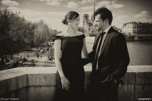 shooting couple en mode photographe guide à Paris