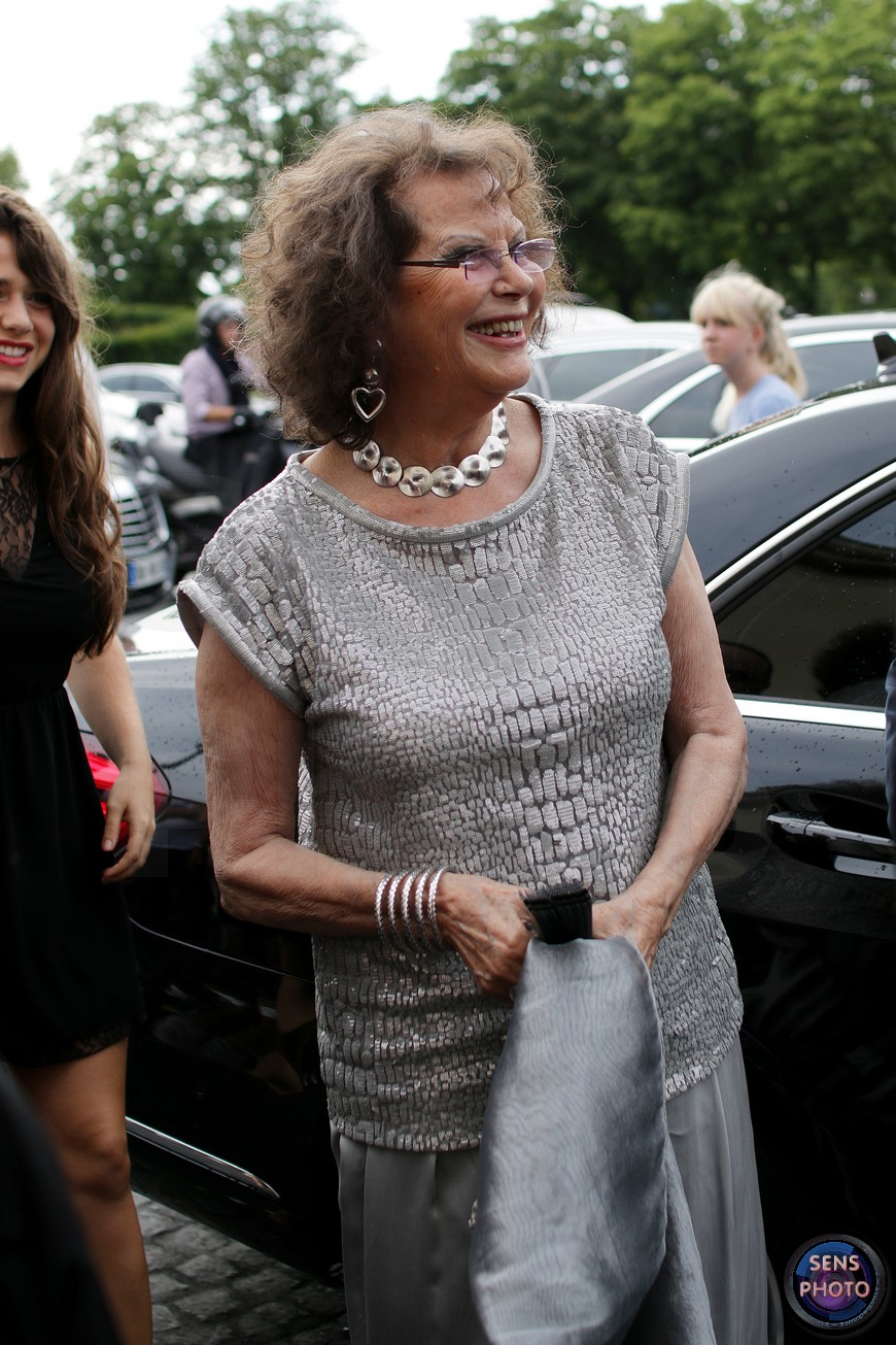 Claudia Cardinale attends Armani Show @Paris Fashion Week Haute Couture