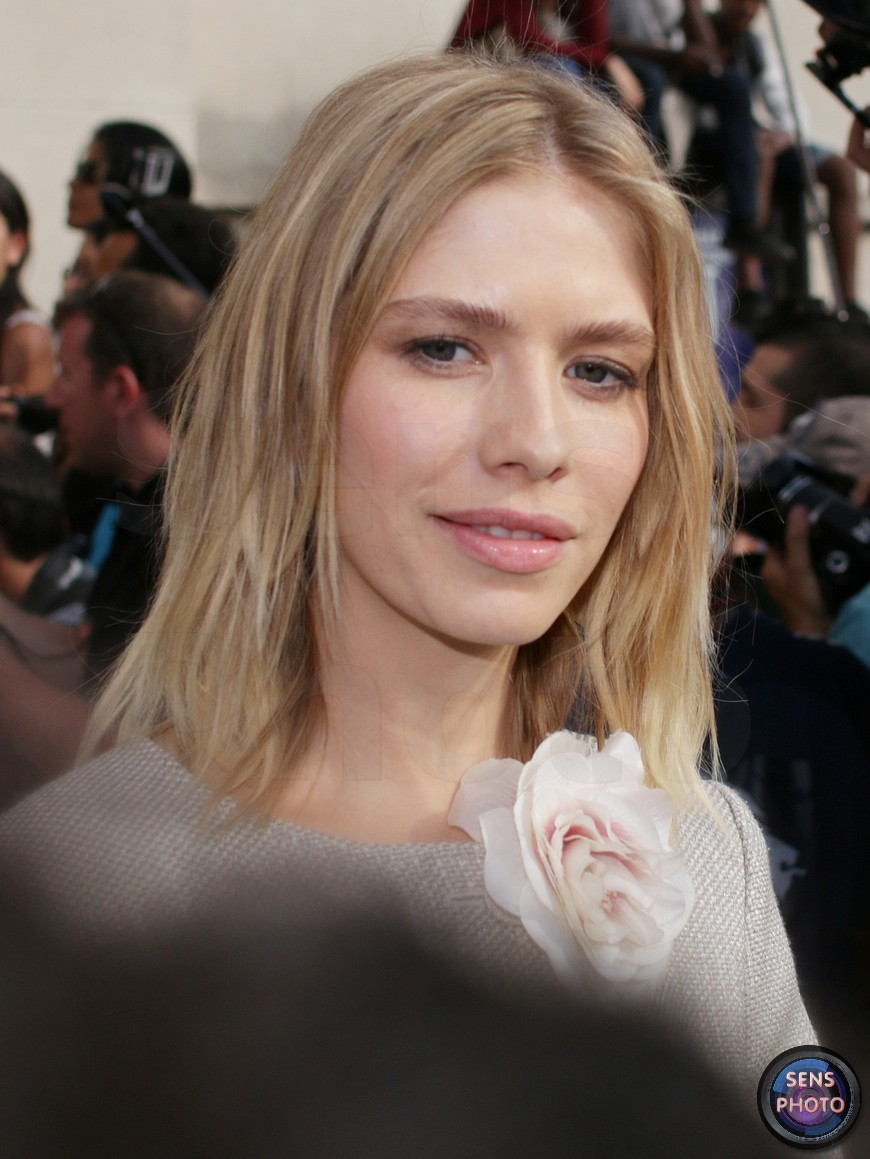 Elena Perminova attends Armani Show @Paris Fashion Week Haute Couture