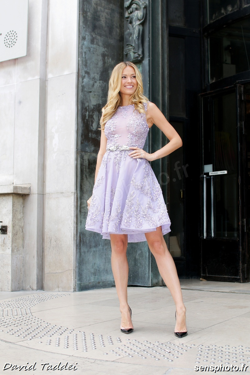 Petra Nemcova, after Zuhair Murad show at Paris Fashion Week 2015-07-09