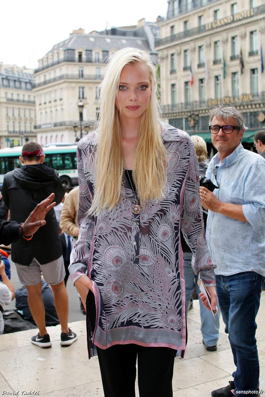 Tanya Dziahileva @Alexis Mabille Fashion Show