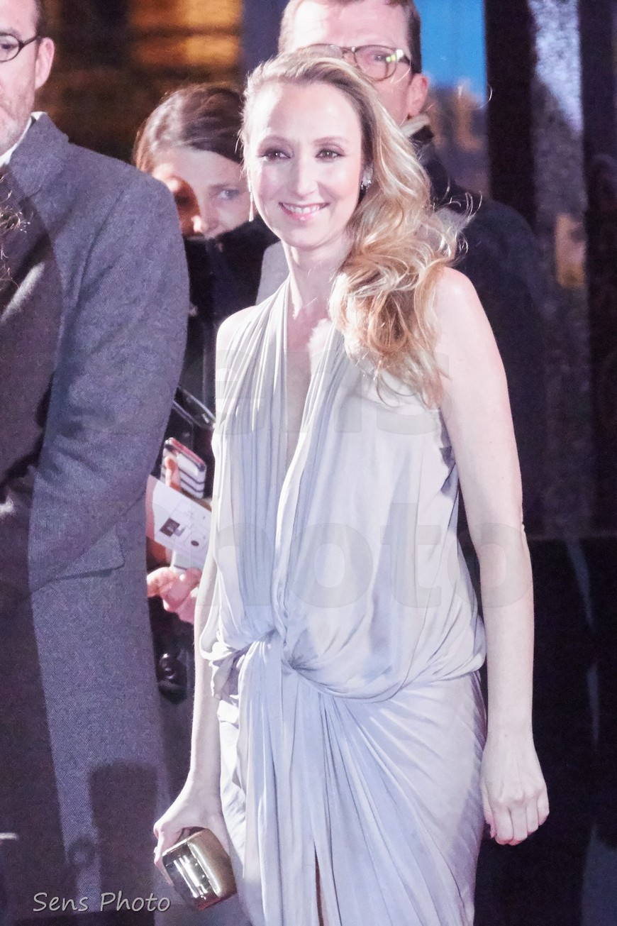 Audrey Lamy arrive à la 41e cérémonie des César 2016