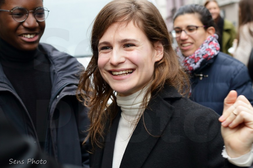 Christine and the Queens attends Jean Paul Gaultier at Paris Fashion Week Haute Couture