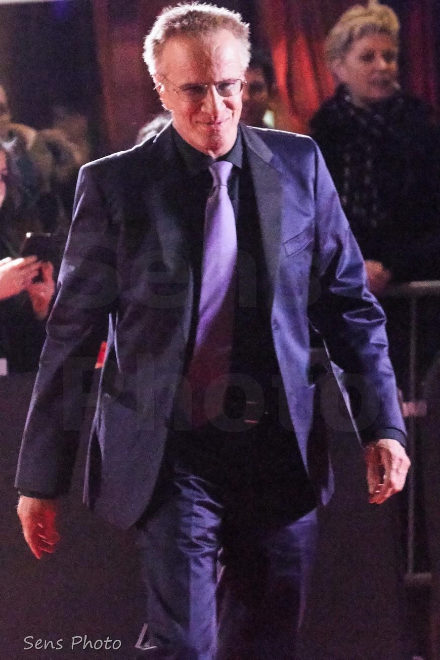 Christophe Lambert arrive à la 41e cérémonie des César 2016