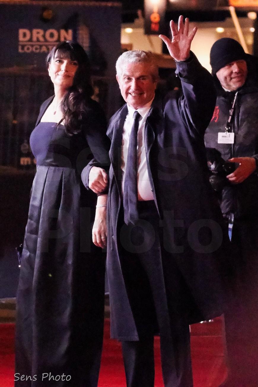 Claude Lelouch arrive à la 41e cérémonie des César 2016