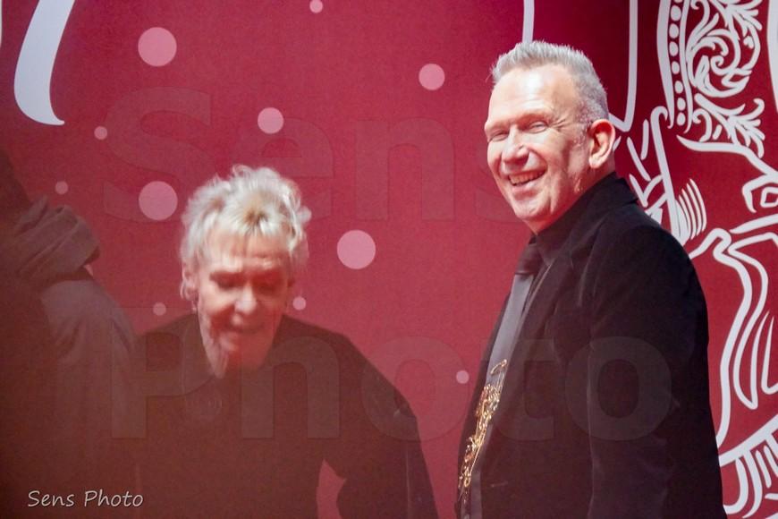 Jean Paul Gaultier Tonie Marshall arrivent à la 41e cérémonie des César 2016