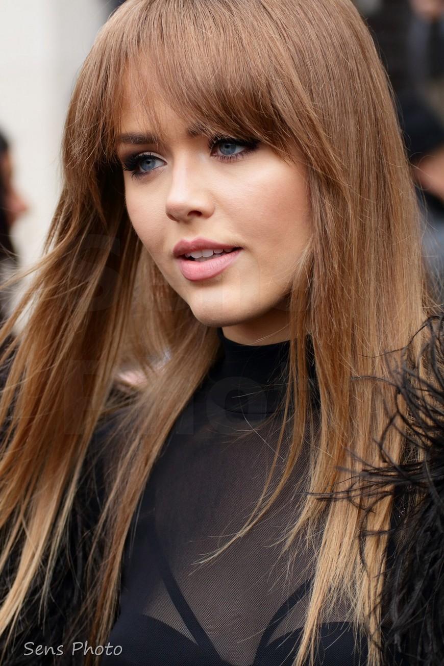 Kristina Basan after Elie Saab Fashion Show