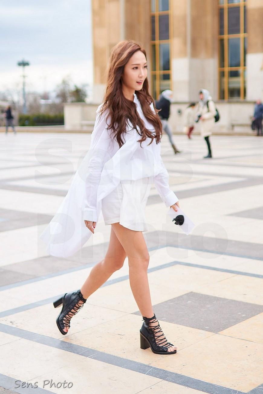 Jessica Jung arrive