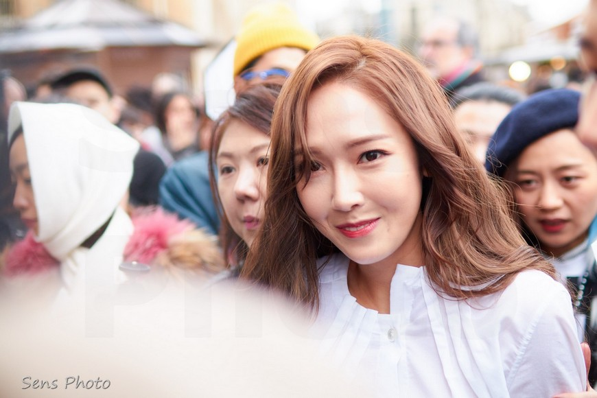Jessica Jung in Paris for the Fashion Week