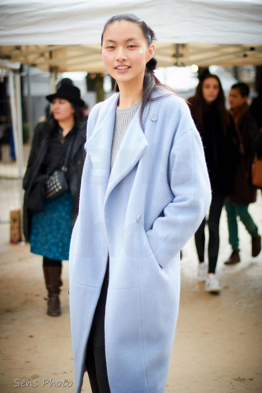 Lingyue Zhang, Paris Fashion Week 2016 Prêt à Porter