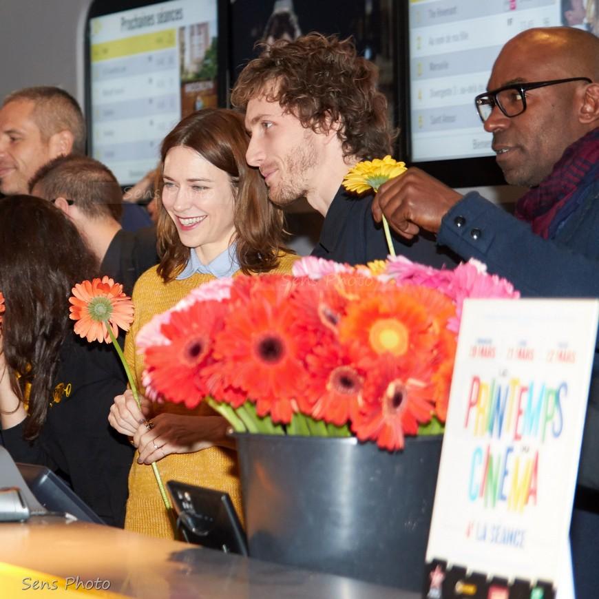 Marie-Josée Croze et Baptiste Lecaplain au Printemps du Cinéma 2016