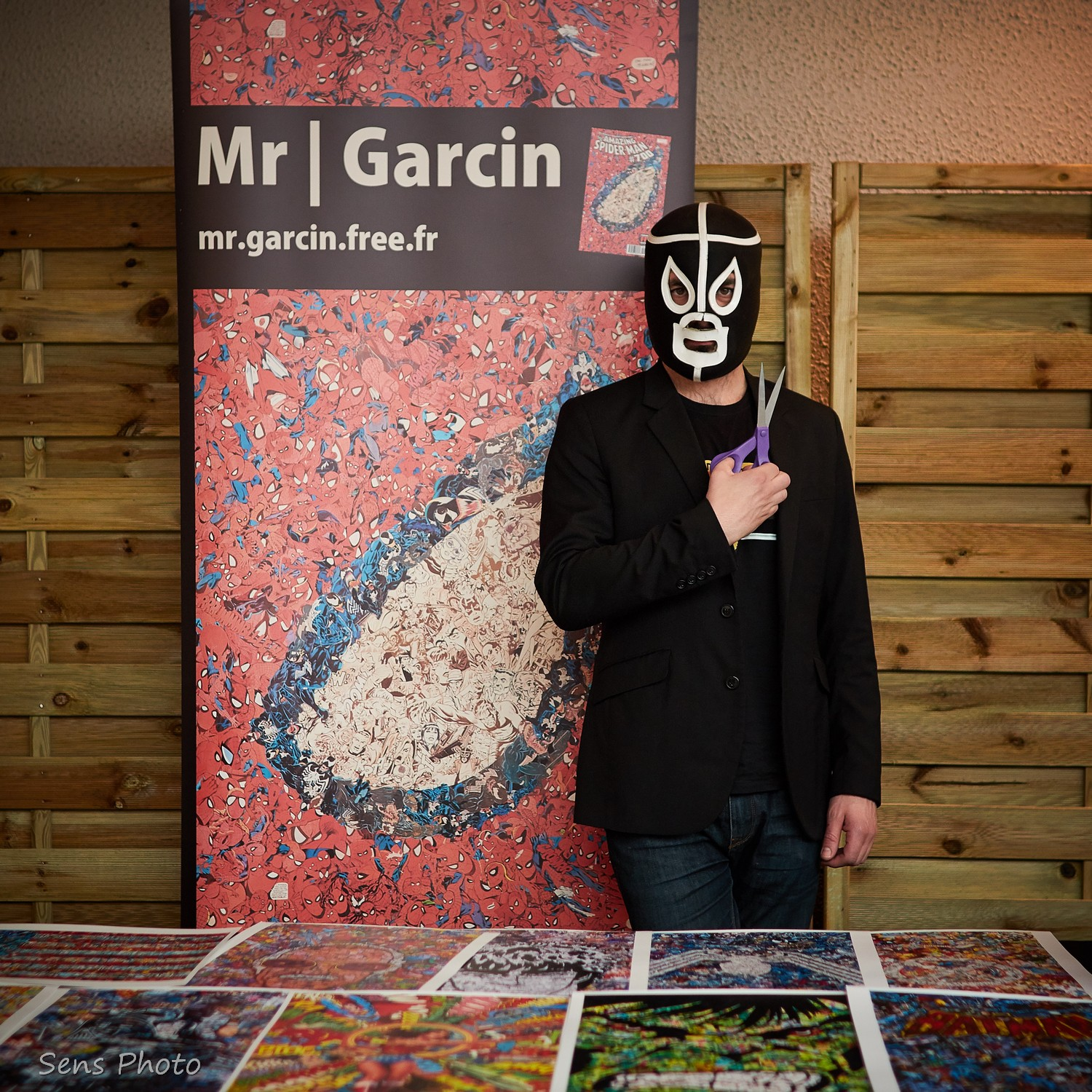 Mr Garcin aux RetroGaming Days