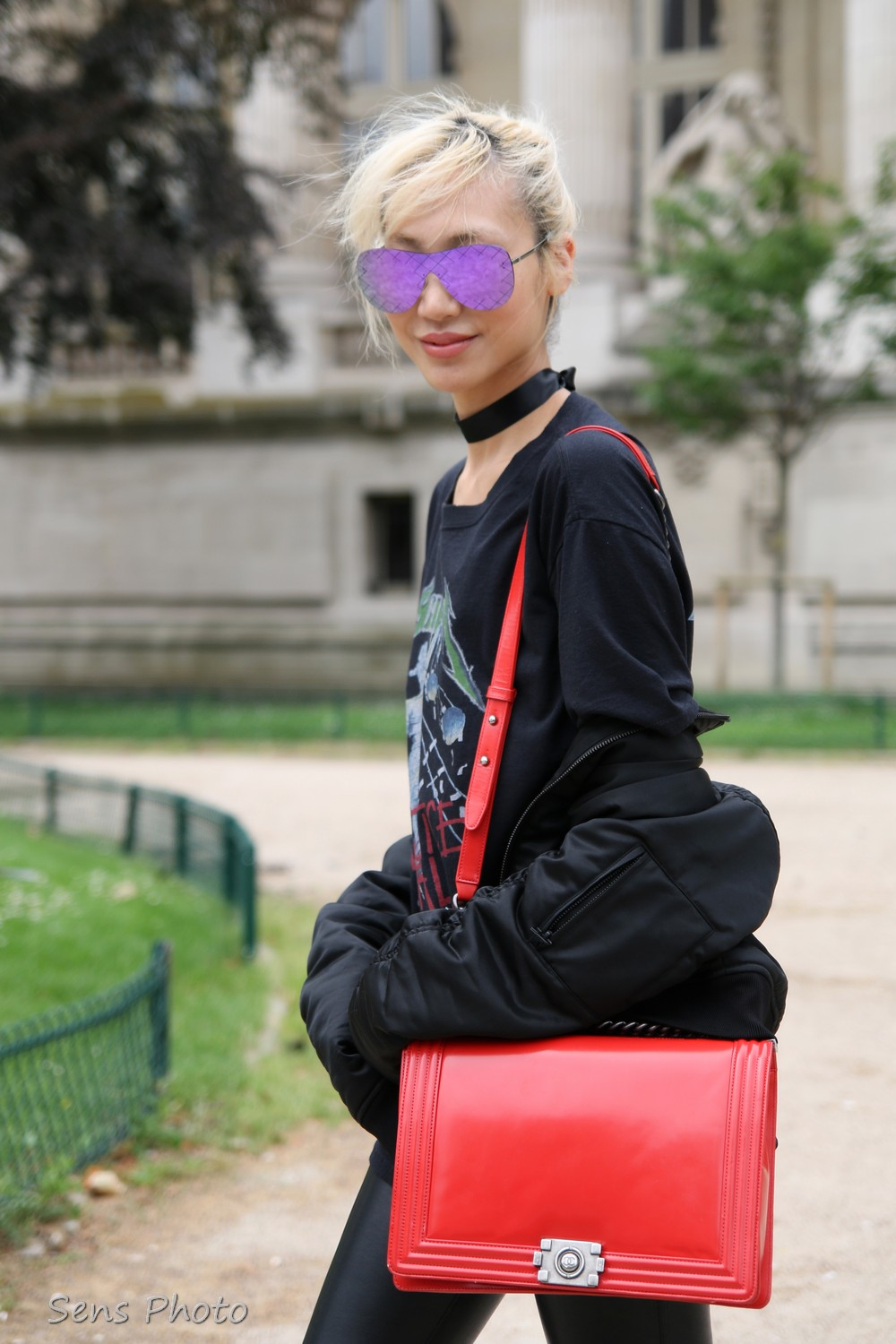 Soo Joo Park after Chanel Fashion Show