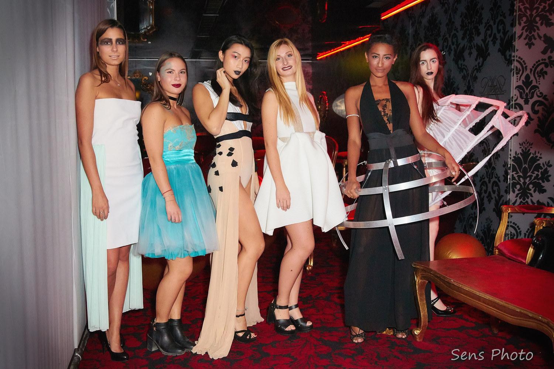 Emmanuelle Cotte et ses mannequins Emmanuelle C. Paris x VIP Room