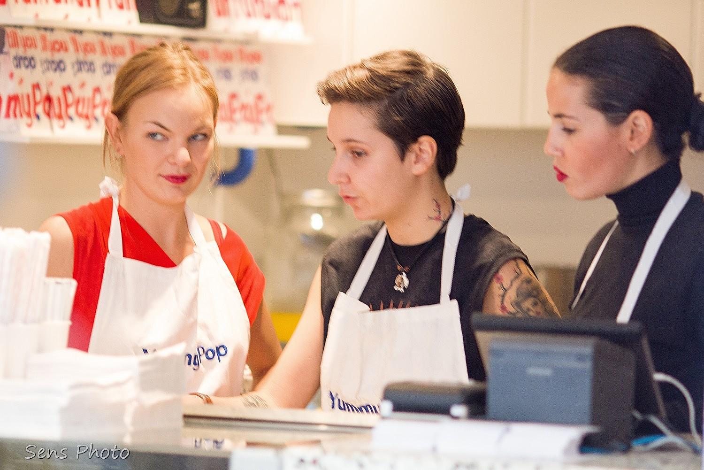 Scarlett Johansson inaugure Yummy Pop