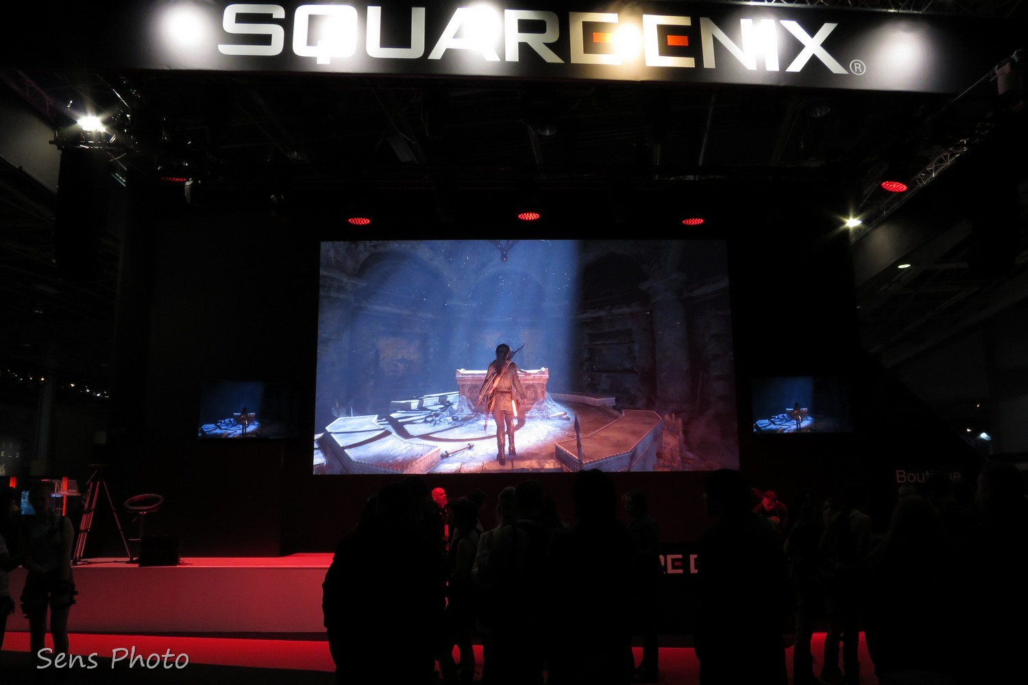 Tomb Raider à la Paris Games Week