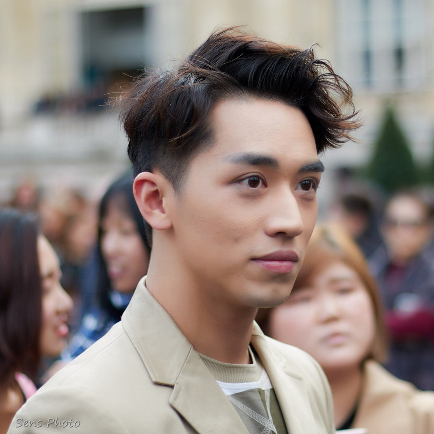 Xu Weizhou, Timmy Xu at Paris Fashion Week