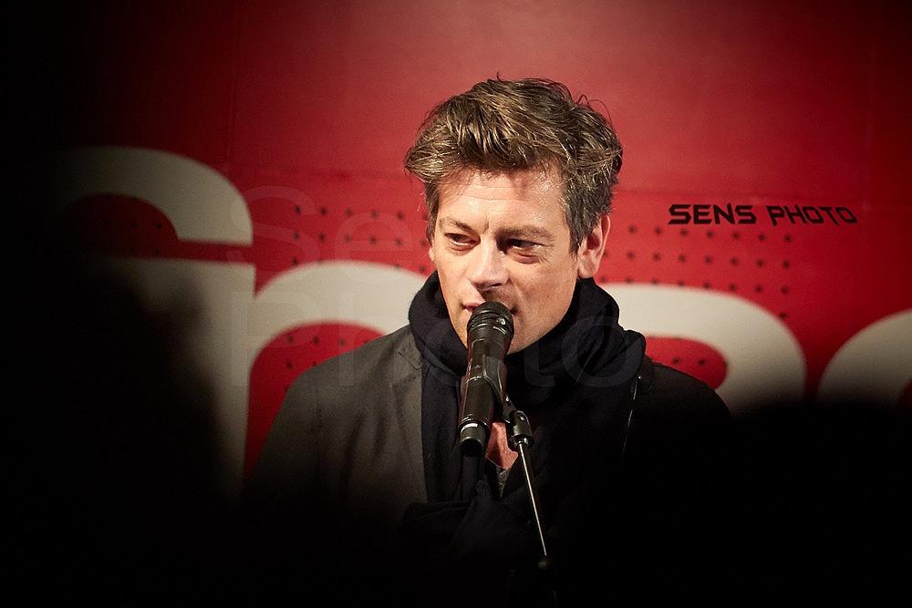 Benjamin Biolay Volver en Showcase pour Volver à Paris