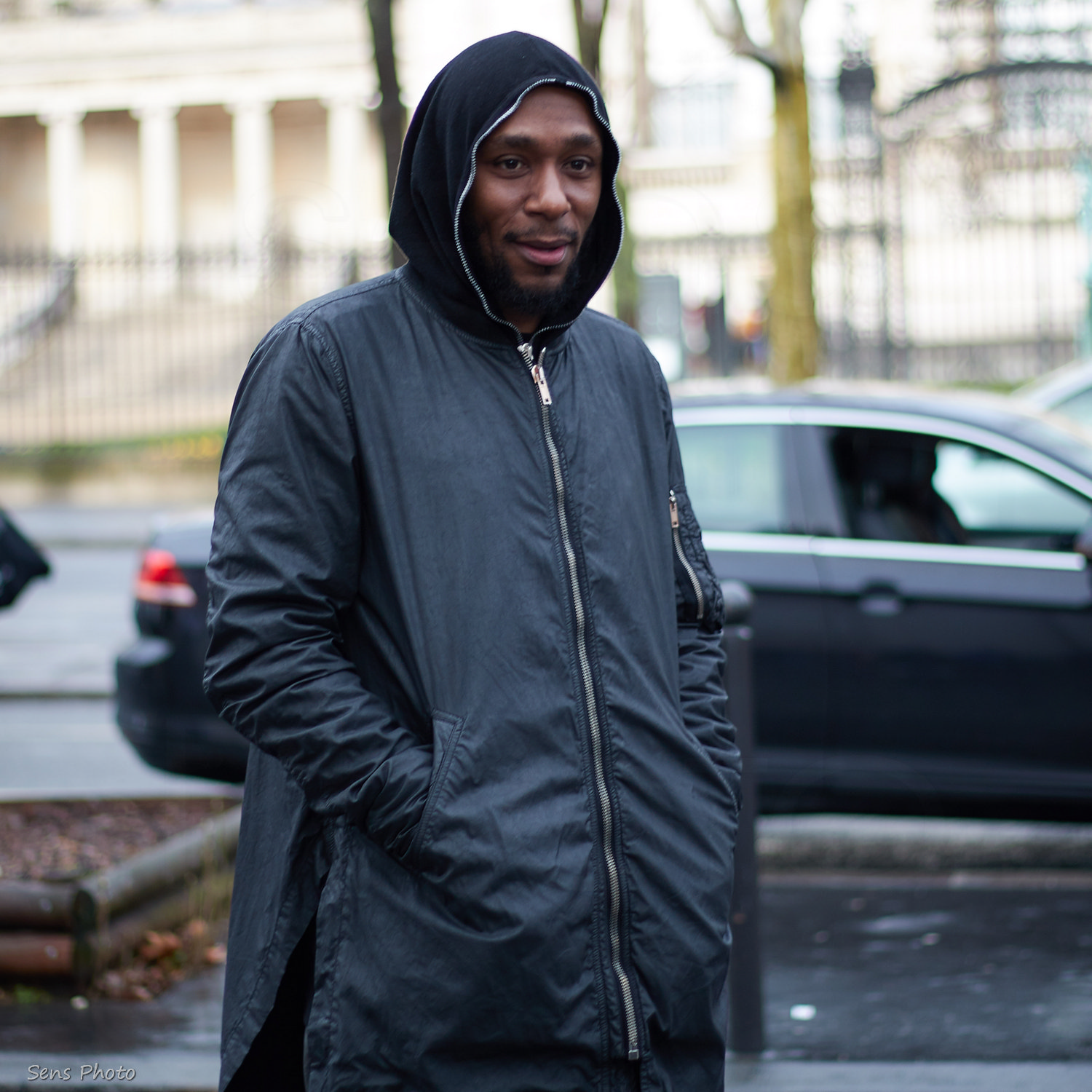 Mos Def after Rick Owens fashion show, Paris
